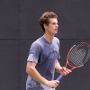 Murray Warming Up In Miami