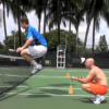 Andy Murray Trains in Miami