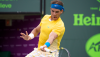 Nadal Averts the Upset, Roddick Swiftly Through