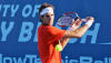 Del Potro Toughs It Out against Tipsarevic to Reap Delray Beach Title