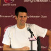 Novak Djokovic Addresses Media at Sony Ericsson Open