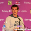 Andy Murray Speaks to the Media at the Sony Ericsson Open