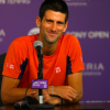 Novak Djokovic Address the Press at the Sony Open