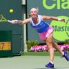 Kuznetsova Topples Serena Williams in the Fourth Round at the Miami Open
