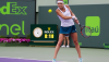Bacsinszky Upsets Halep at the Miami Open