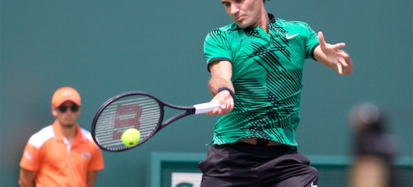 Saturday Finds Federer in the Spotlight at the Miami Open
